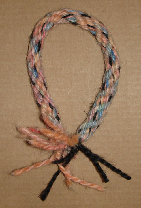 dyed hemp wrist band
